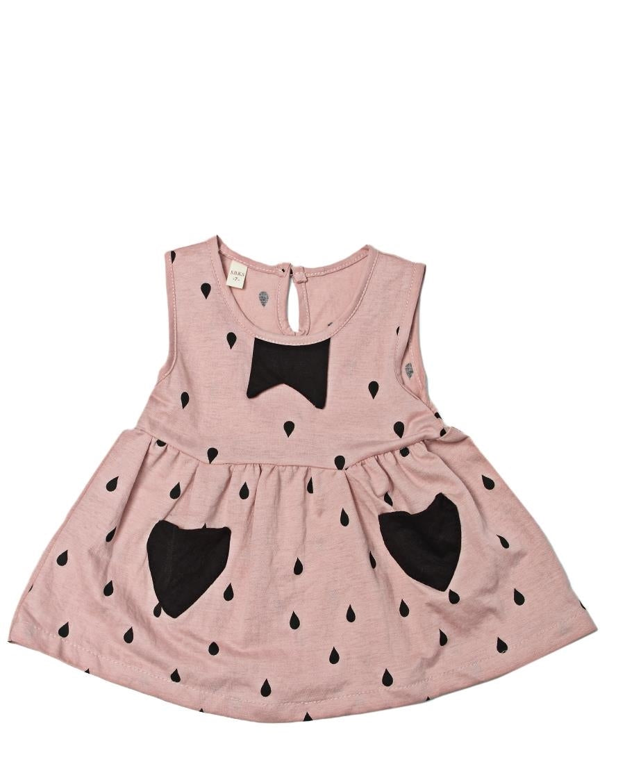 Girls Dress - Mink