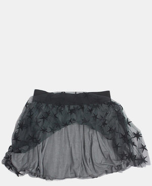 Girls Skirt - Black-Grey