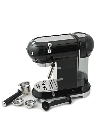 Smeg Espresso Coffee Machine - Black