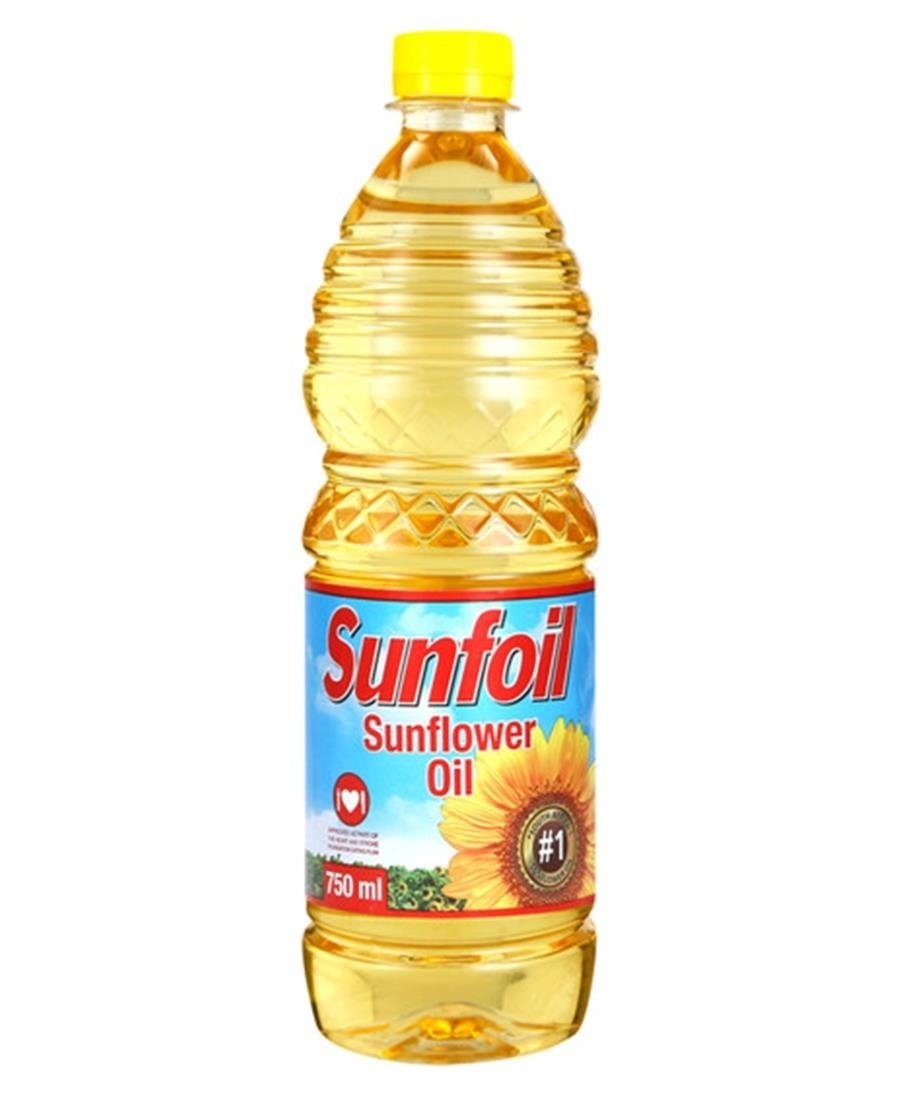750ml Sunflower Oil - Yellow