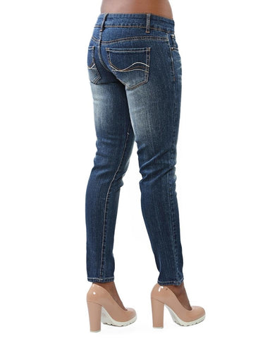 Denim Jeggings - Blue