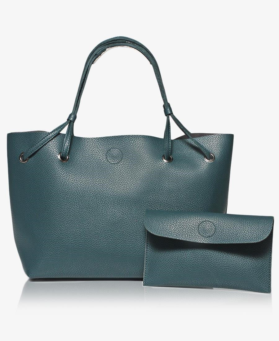2 Piece Shopper Bag - Navy