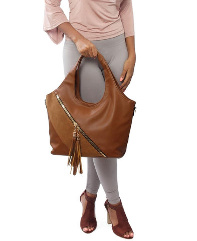 Shopper Bag - Brown
