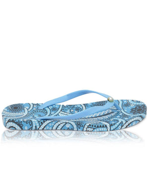 Ladies' Flip Flops - Blue
