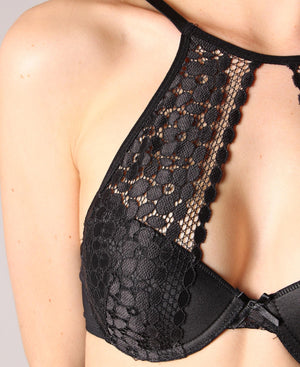Balconette Bra - Black