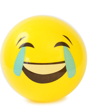 Emoji Beach Ball - Yellow