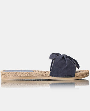 Slip On Sandals - Navy