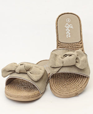 Slip On Sandals - Beige