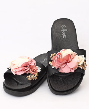 Slip On Sandals - Mink