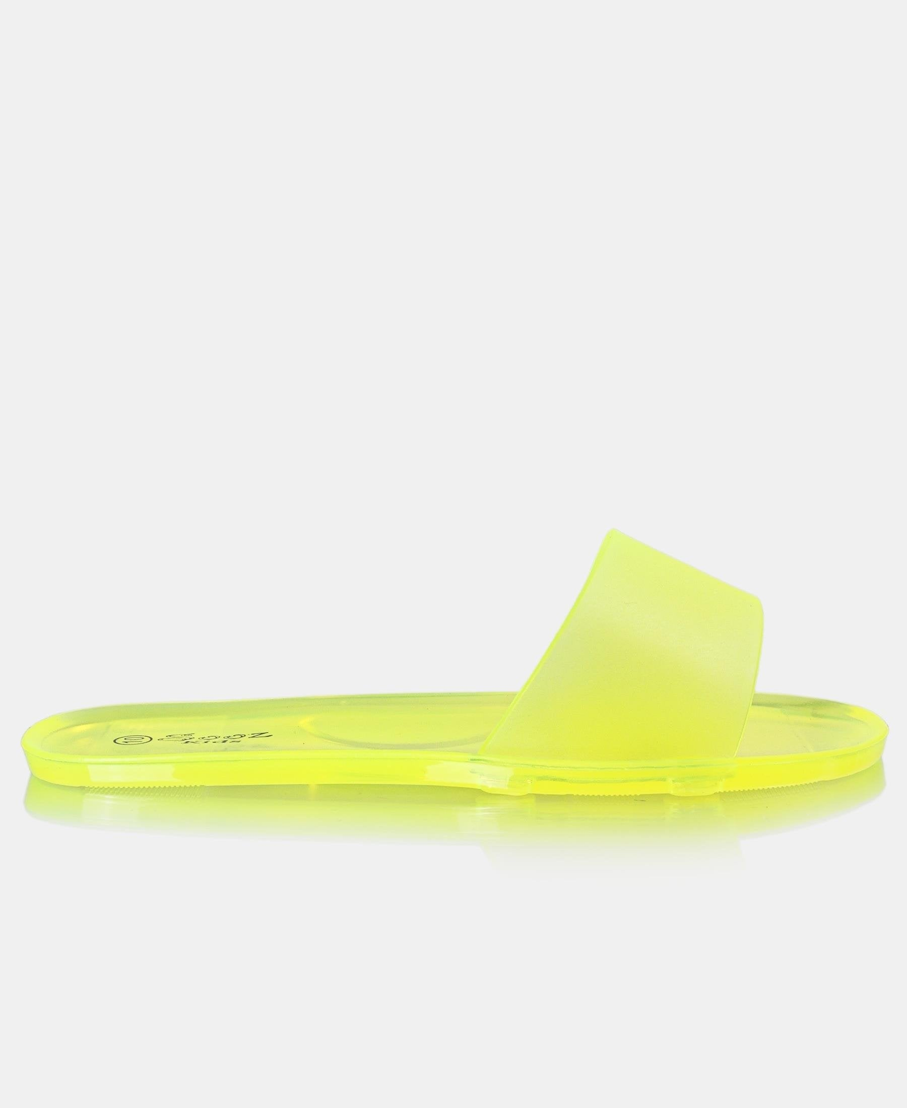 Girls Jelly Sandals - Yellow