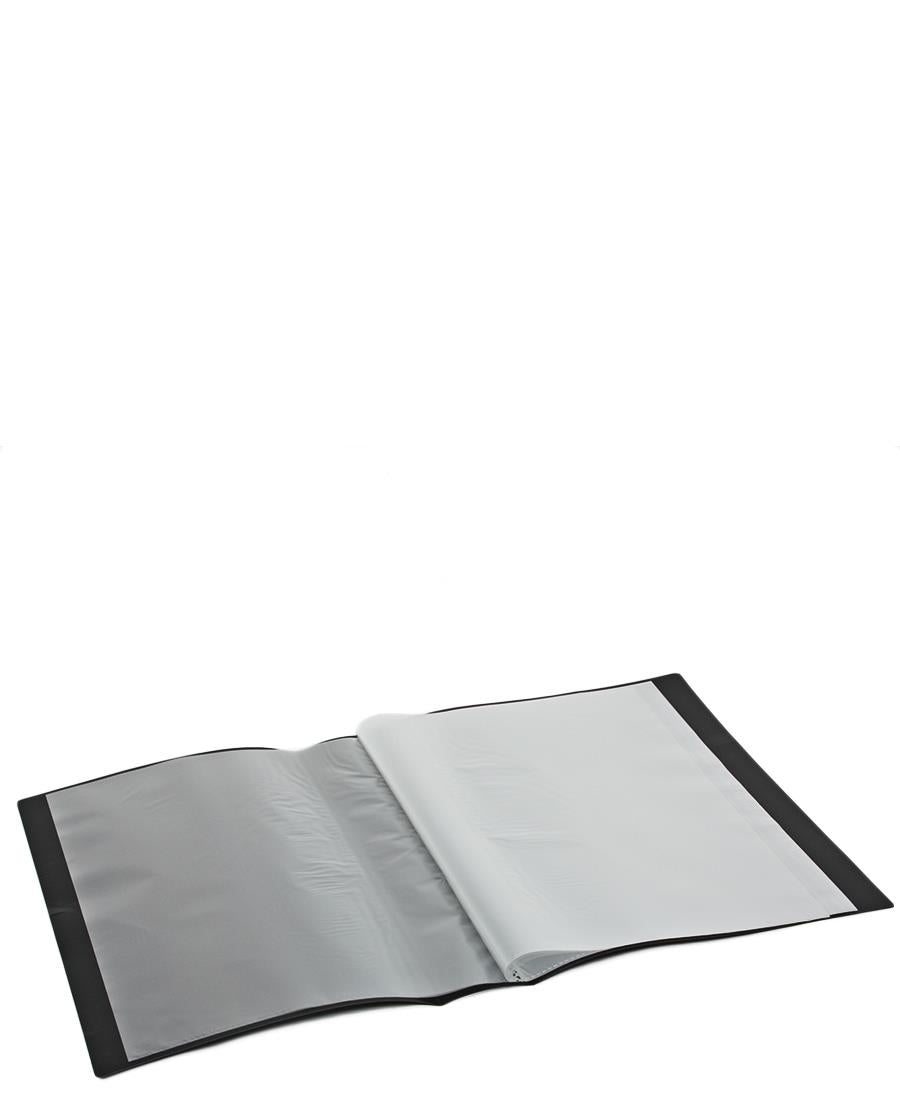 20 Pocket Flip File - Black