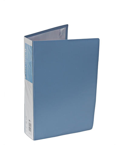 20 Pocket Flip File - Blue