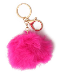 Key Ring - Fuschia