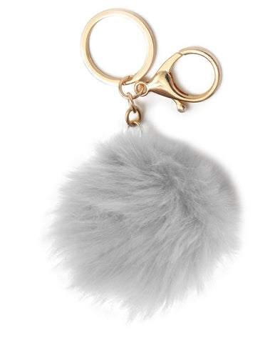 Key Ring - White