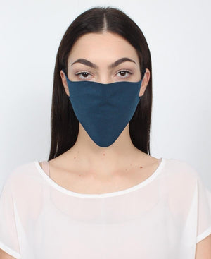 100 Pack Single Ply Reusable Face Mask - Teal