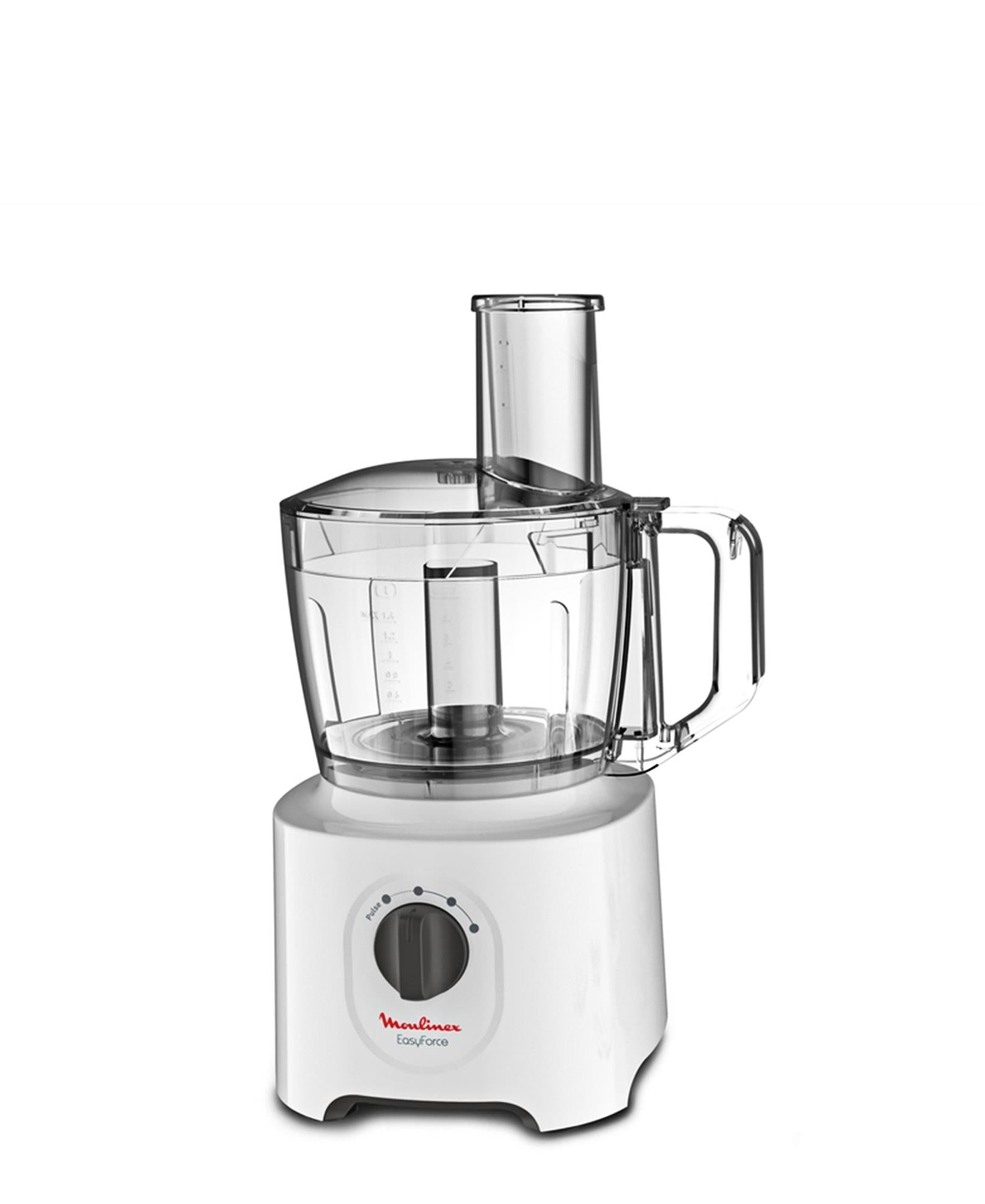 Moulinex Easy Force Food Processor - White