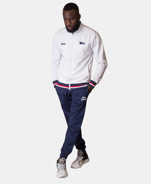 Lonsdale Tracksuit Jacket - White