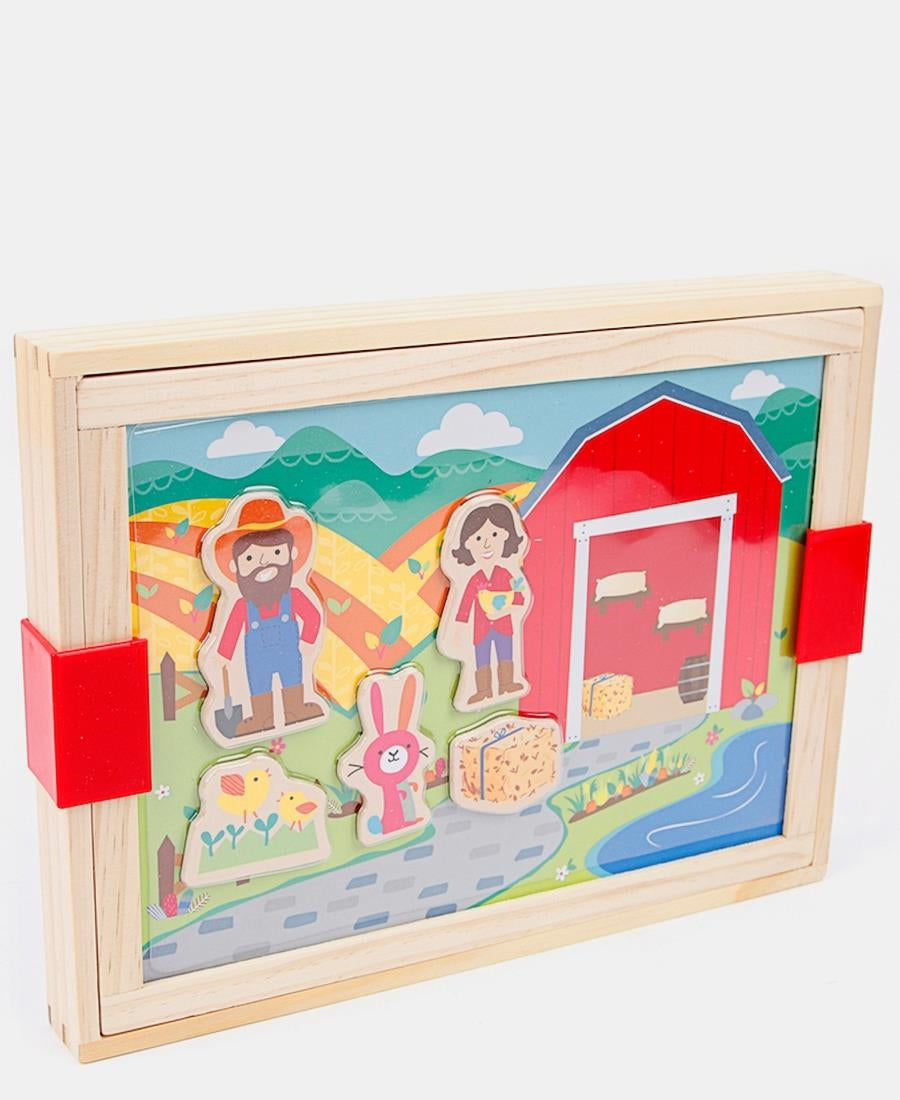 Magnetic Farm Board Box - Multi