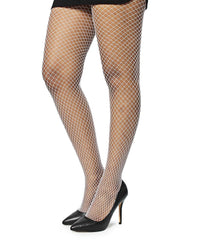 Fishnet Stockings - White