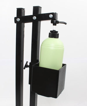 Foot Pedal Sanitiser Dispenser - Black