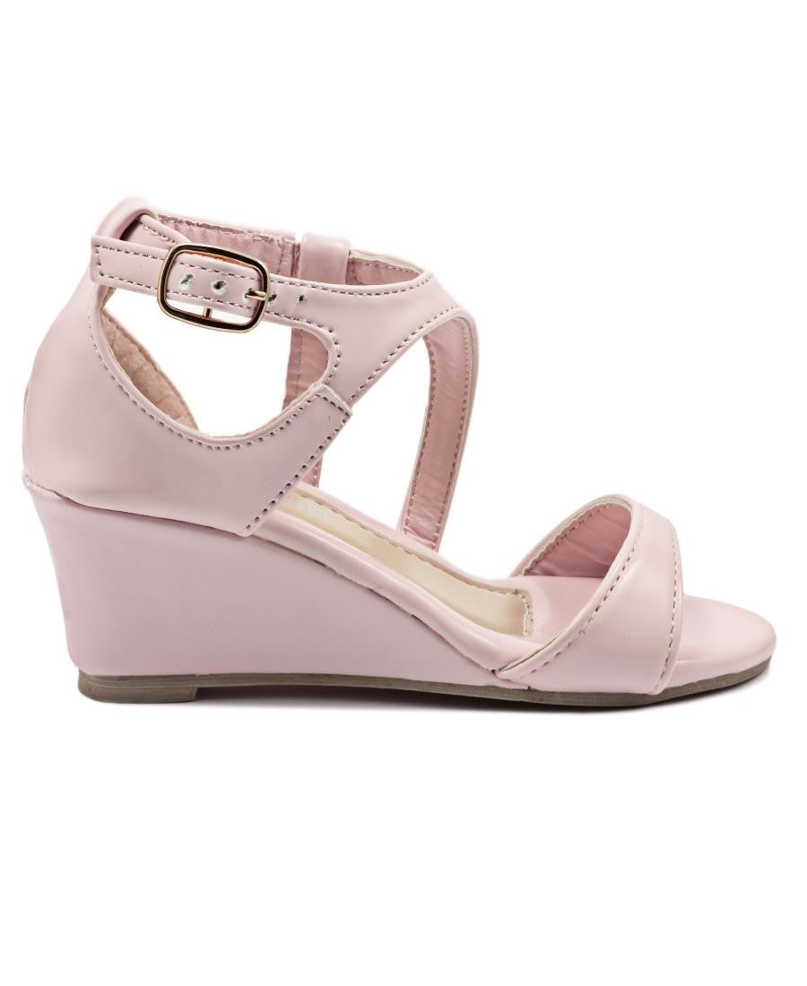 Girls Wedge Sandals - Pink