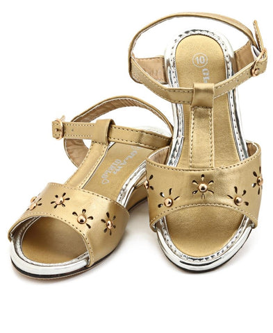 Girls Sandals - Gold