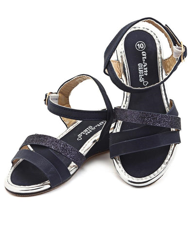 Girls Sandals - Navy