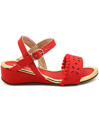 Girls Sandals - Red