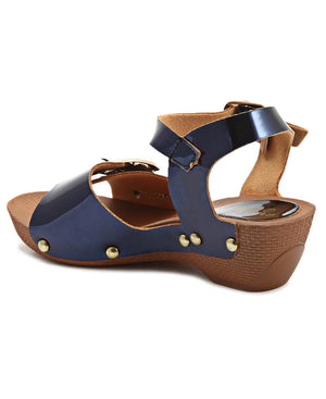Girls Clogs - Navy