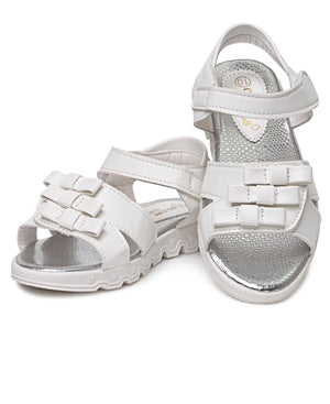 Girls Sandals - White