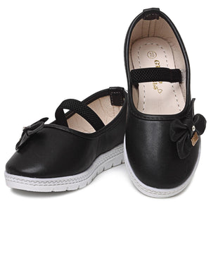Girls Pumps - Black