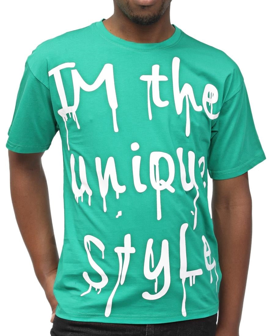Boys Printed T-Shirt - Green