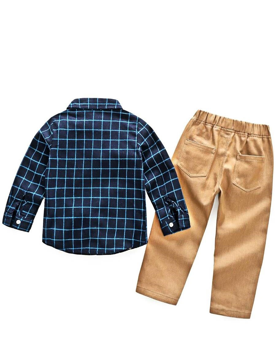 Boys Two Piece Outfit - Multi