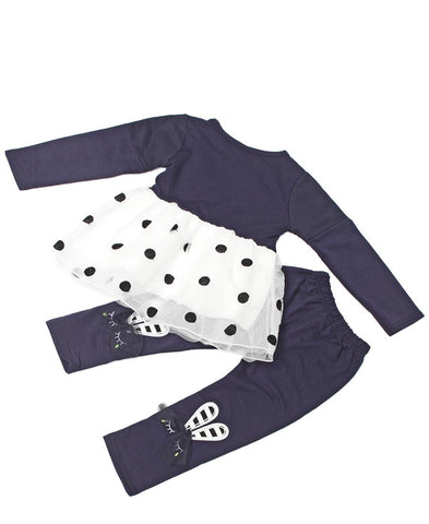 Infants Two Piece Outfit - Navy