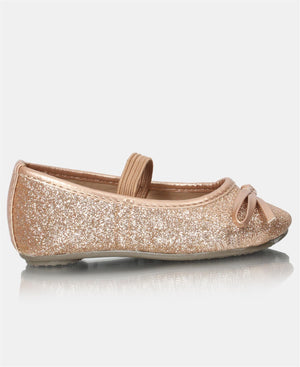 Infants Pumps - Rose Gold