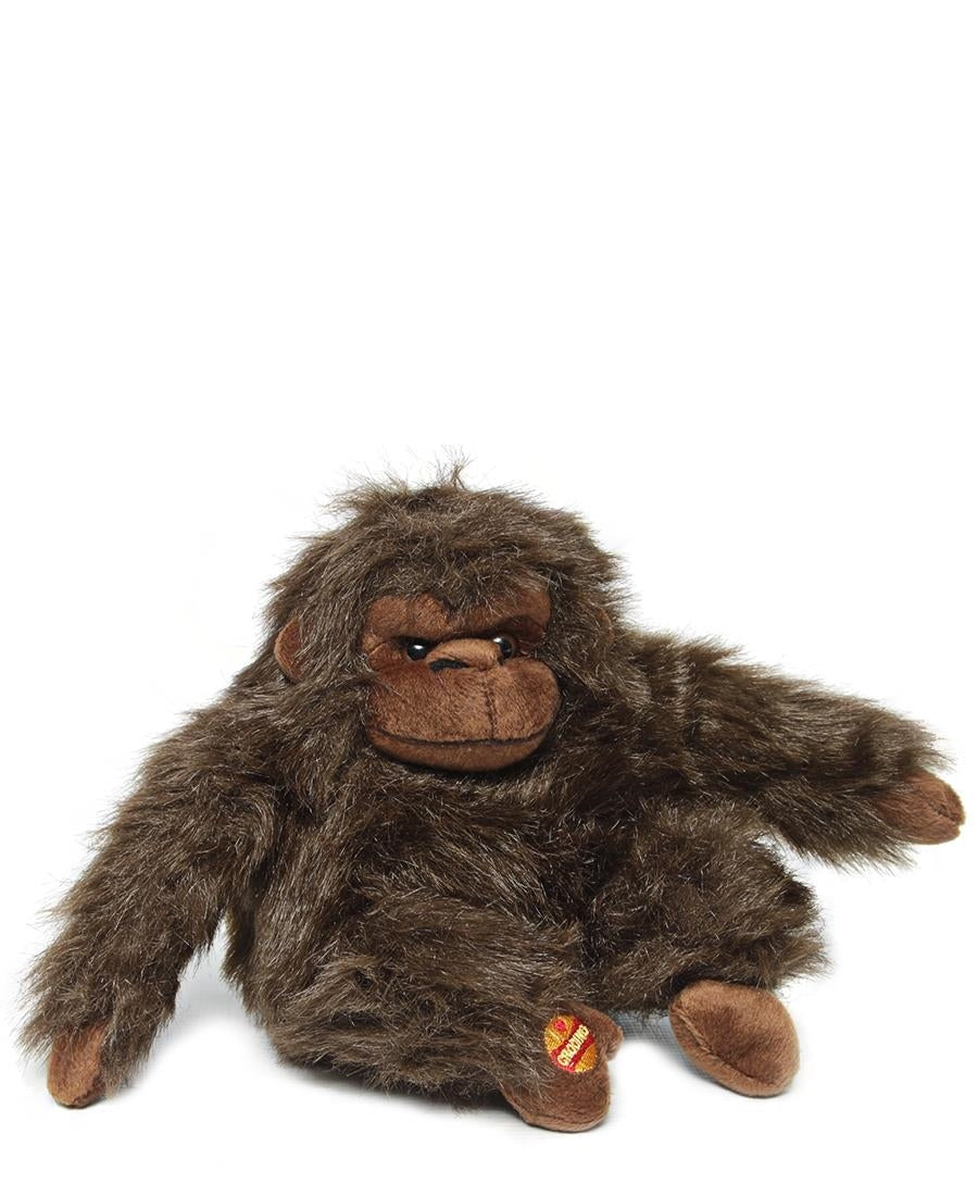 Stuffed Plush Gorilla - Brown