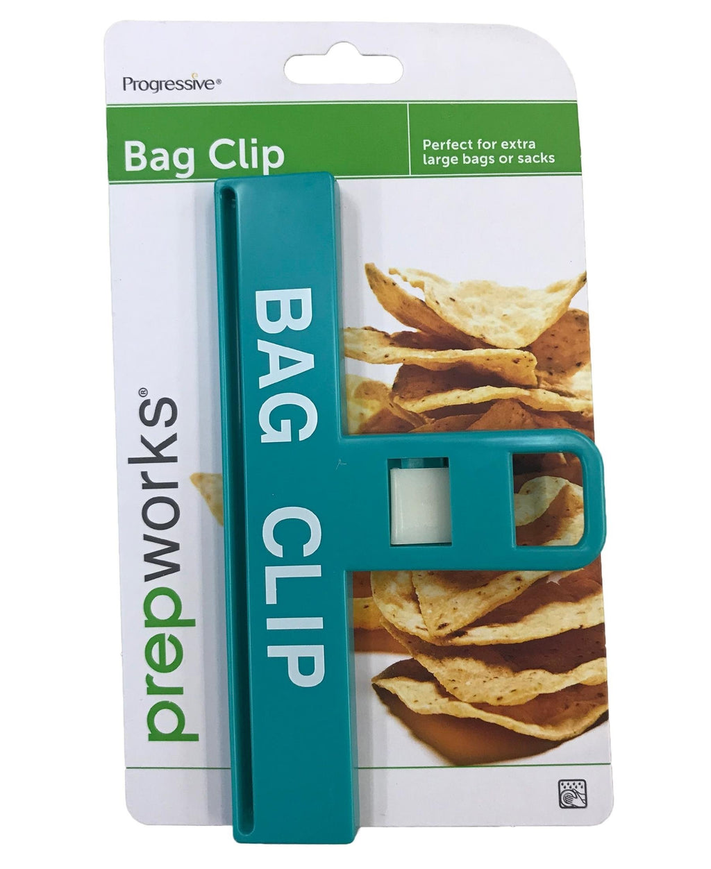 Progressive Large Bag Clip - Blue