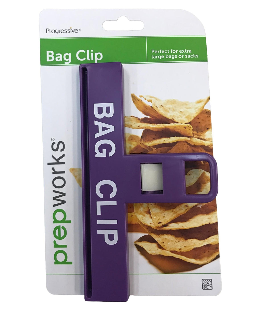 Progressive Large Bag Clip - Purple