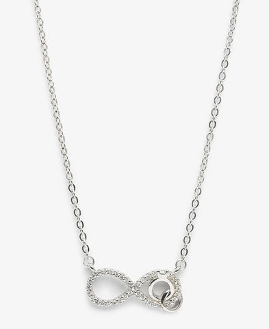 Streling Silver Wifey Necklace - Silver