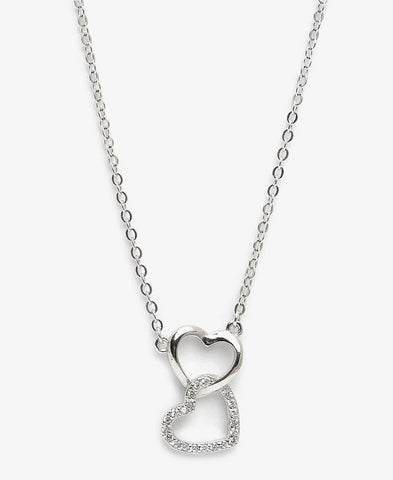 Sterling Silver Habibi Necklace - Silver