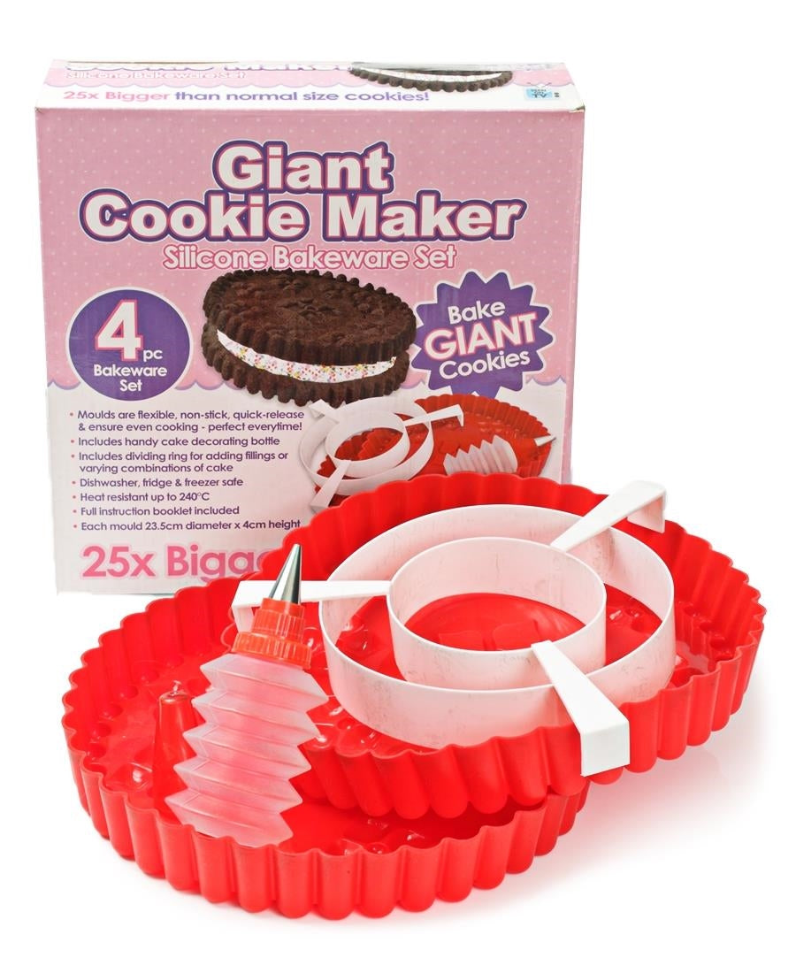 Giant Cookie Maker - Red