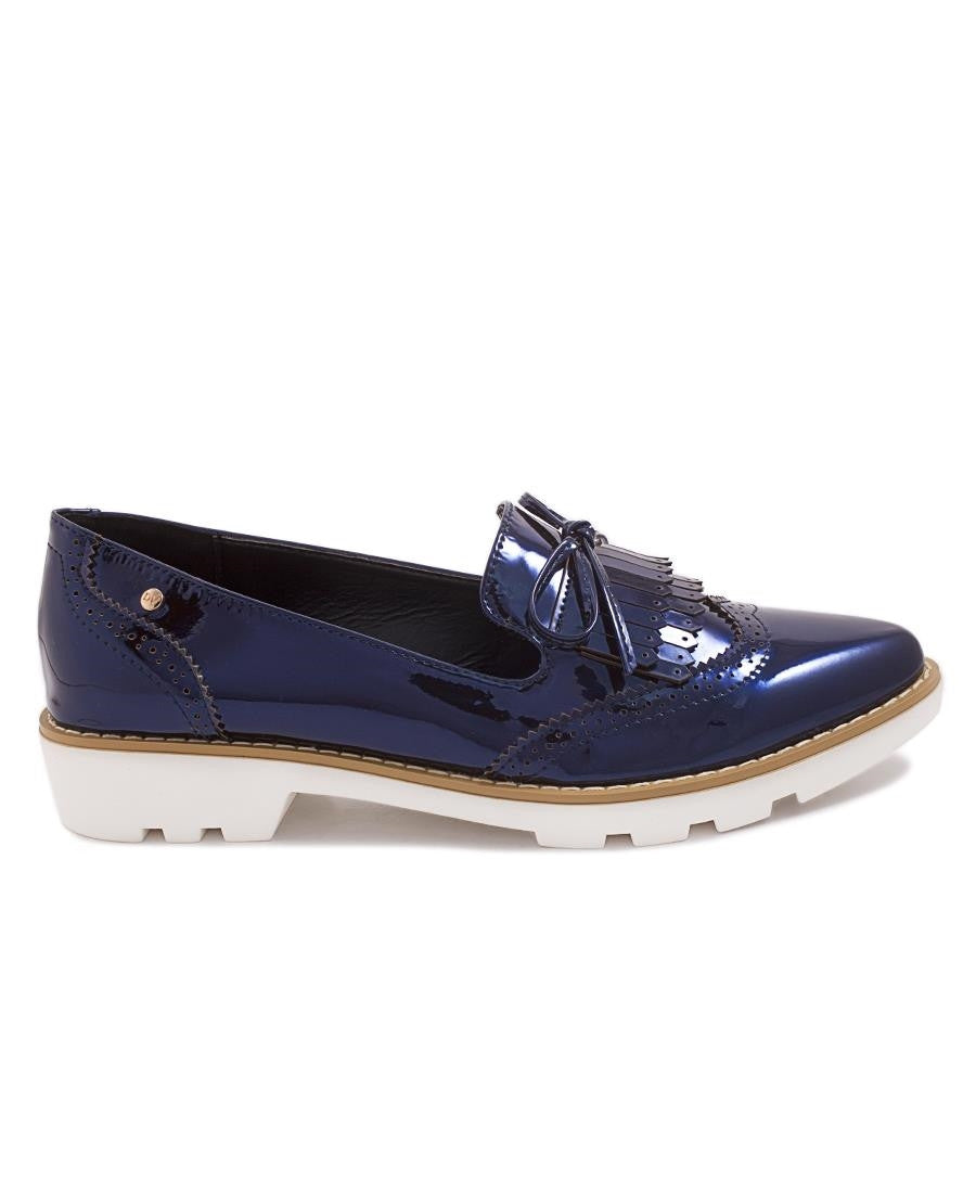 Glasgow Brogue - Navy