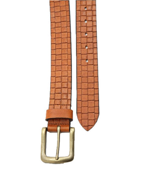 Leather Belt - Tan