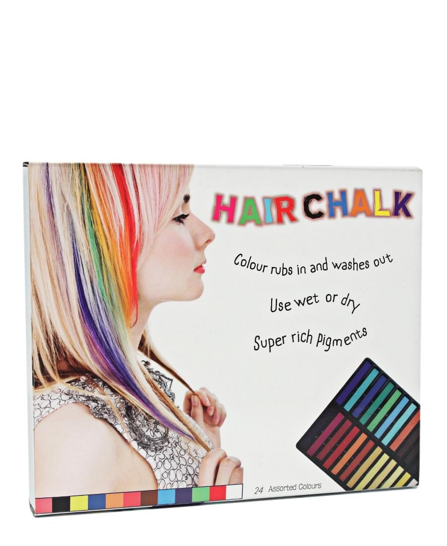 24 Colours Hair Chalk - Multi