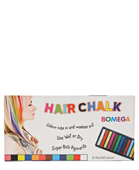 12 Colours Hair Chalk - Multi