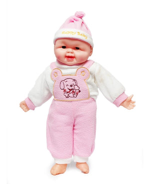 Happy Baby Doll - Pink