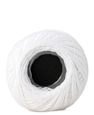 Crochet Cotton - White