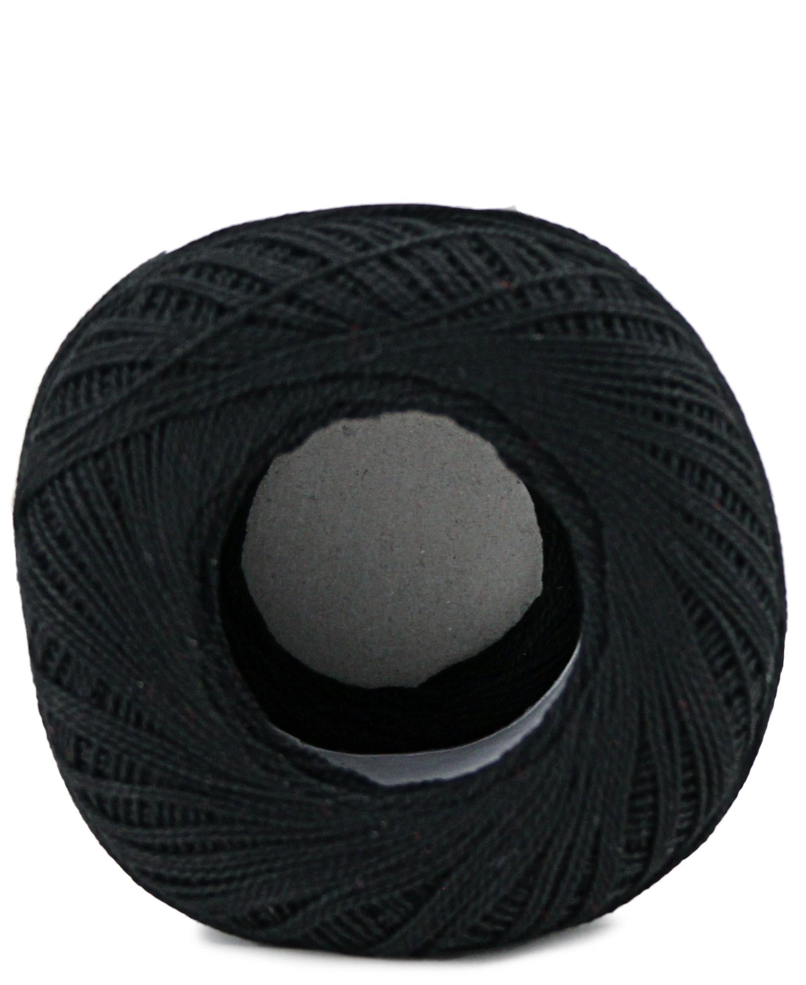Crochet Cotton - Black