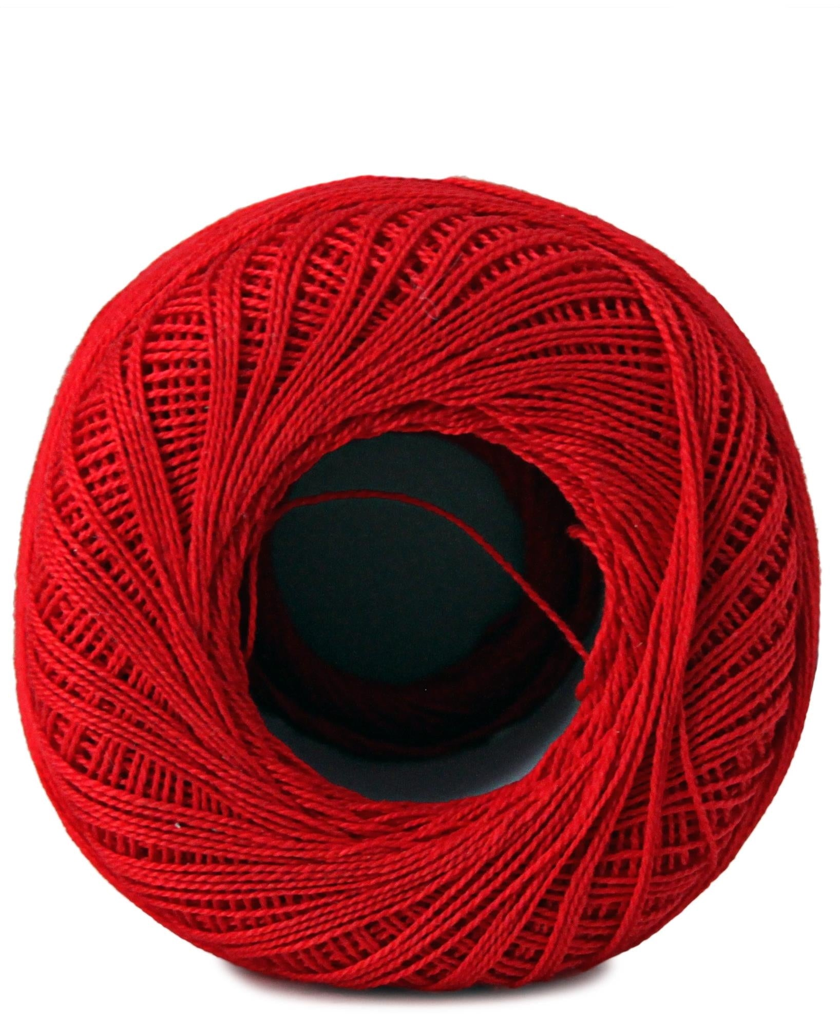 Crochet Cotton - Red