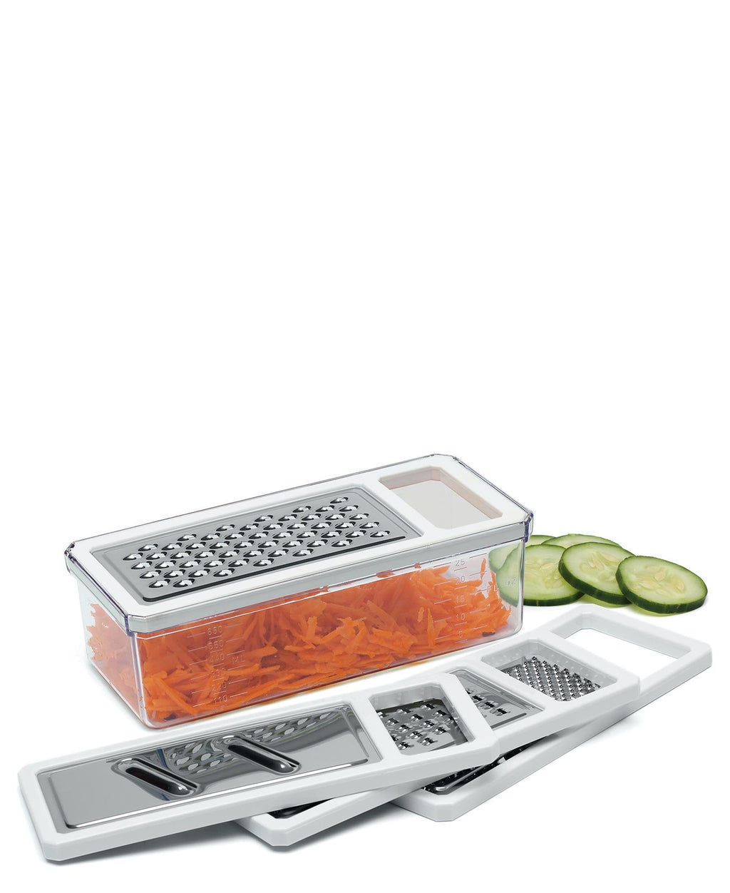 Progressive 5 Piece Multi Grater - White